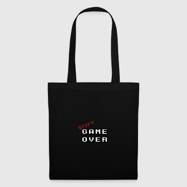 Never game over white - Tote Bag