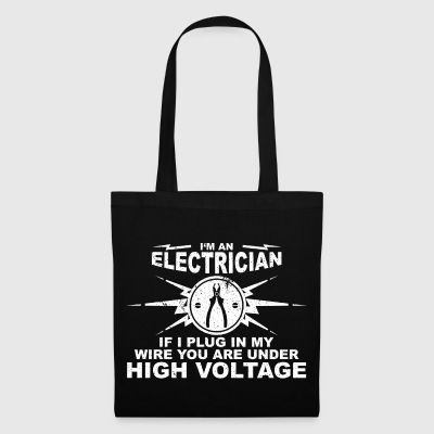 Electricians have really long wires - Tote Bag