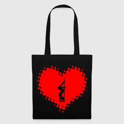 I Love Pole Dance - Dancing Poledance Striptease - Tote Bag