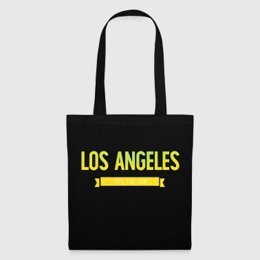 Typografie LOS ANGELES FEEL THE SUN - Stoffbeutel