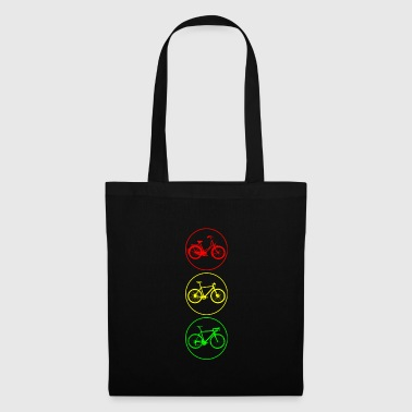 feux de circulation à vélo - Tote Bag