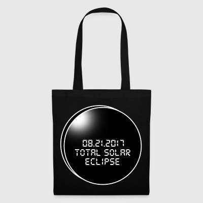 Total Solar Eclipse.The best day of 2017.Cool Gift - Borsa di stoffa