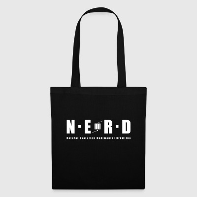 NERD WHITE - Tote Bag