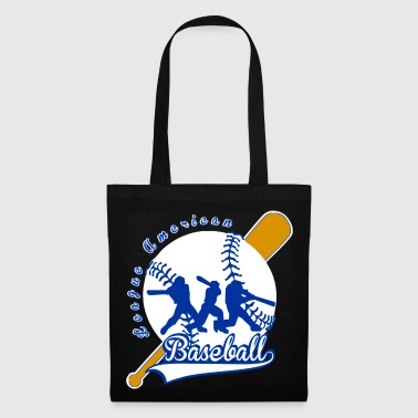 baseball league american - Tote Bag