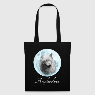 White Wolf Angelwolves - Tote Bag