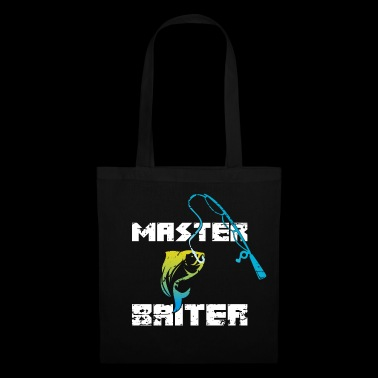 Humour Funny Fish - Master Baiter - Tote Bag