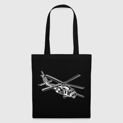 Helicopter / helicopter 01_white - Tote Bag