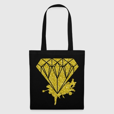 Diamant en or Glitter Fashion Style Glitter Unique - Tote Bag