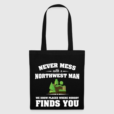 Countries Northwest - Tote Bag