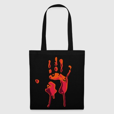main ensanglantée - Tote Bag