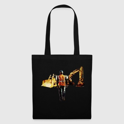 Diggers and Dozers - Tote Bag