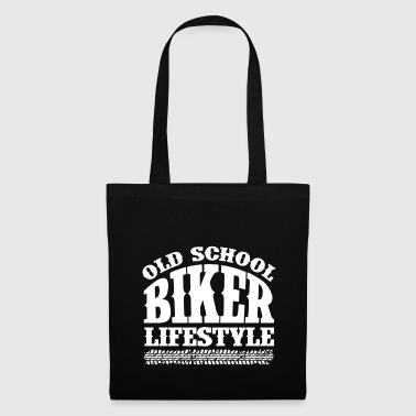 Old School Biker - Tote Bag