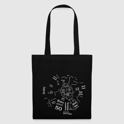Soest Map dark - Tote Bag