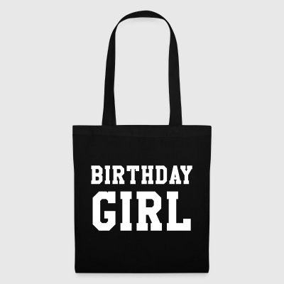 Bursdag Shirt - Birthday Girl - Stoffveske