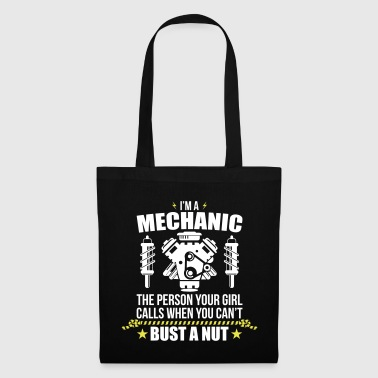 Funny Mechanic - funny mechanic - Tote Bag