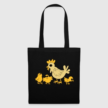 chicken family - Tote Bag