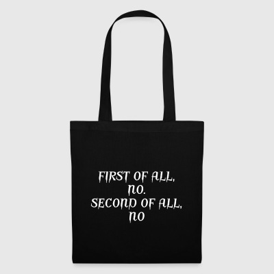 The answer is NO - Tote Bag