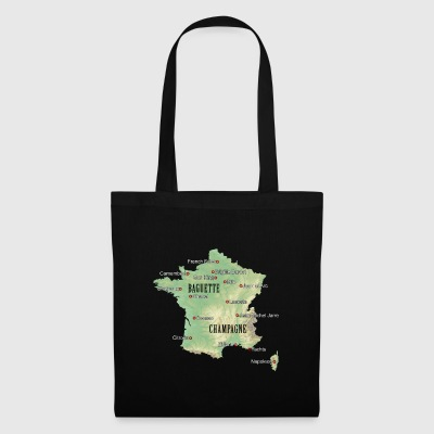 France Atlas - Tote Bag