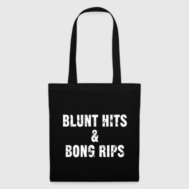 Blunt hits & bong rips - Tote Bag