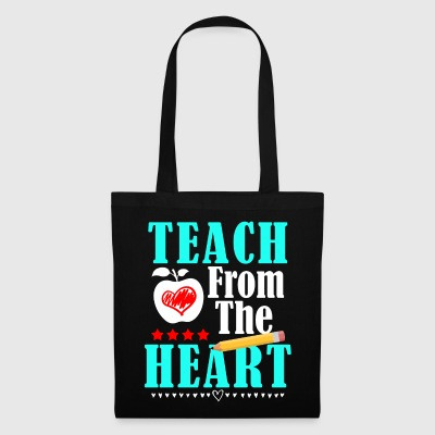 Teach From The Heart - Stoffbeutel
