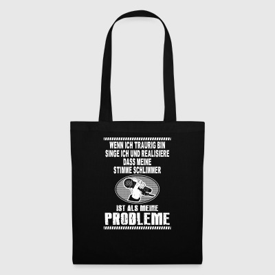 Singing problems - Tote Bag