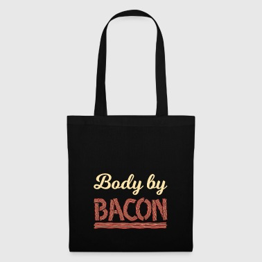 Body drôle par Bacon shirt - Tote Bag