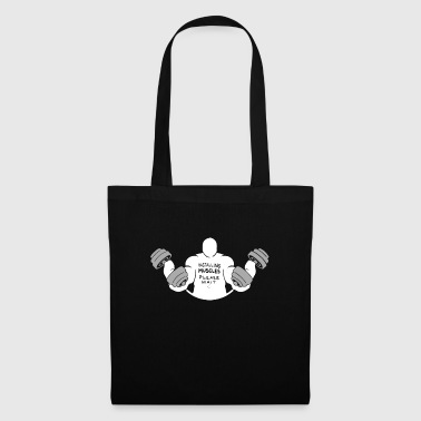 Installation muscles s'il vous plaît attendre - Tote Bag
