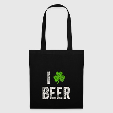 I Love Beer St. Patricks Day t-skjorte gave - Stoffveske