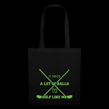 Golf Caddy Golf Course Putter Yardage Gift Tee - Tote Bag