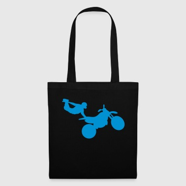 motorcycle12 cross freestyle moto1 - Tote Bag