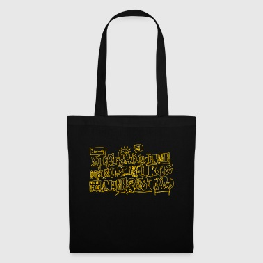 jaune chaud - Tote Bag