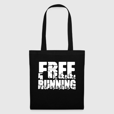 lettrage Cool: Free Running - Tote Bag