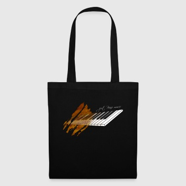 Piano music - Tote Bag