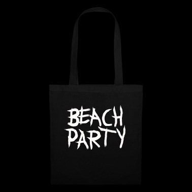 BEACHPARTY_PINSEL - Stoffbeutel