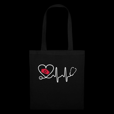Heart Beat Nurse - Tote Bag