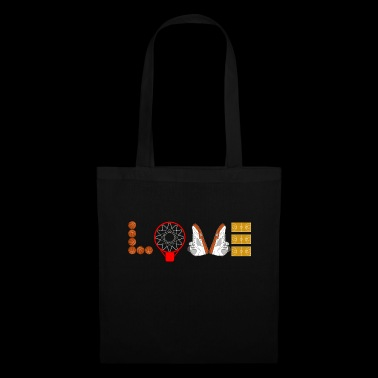 Love Basketball Sport Slam Dunk Fan Ball Shoes - Tote Bag