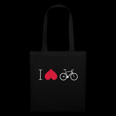 I Love Cycling - Stoffbeutel