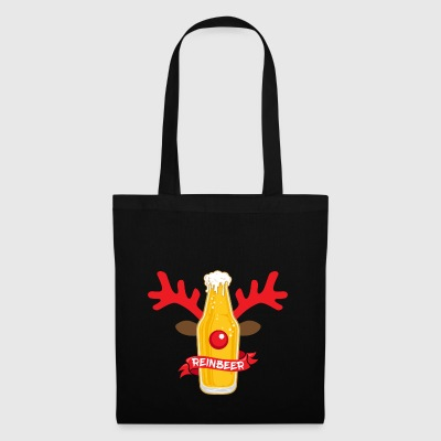Reinbeer Christmas Pun Costume Wordplay Gift - Tote Bag
