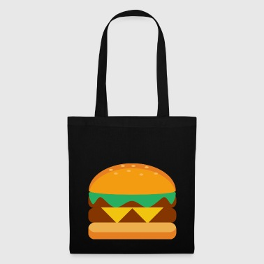 Hamburger Cheeseburger Burger Fast Food Gift - Tote Bag