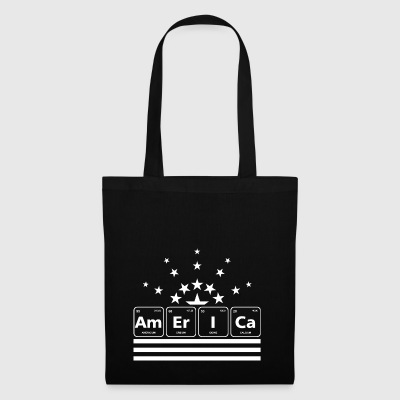 Periodic Table Chemistry Americium USA star geek - Tote Bag