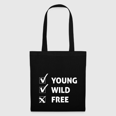 Giovane Wild and Free / idea regalo - Borsa di stoffa