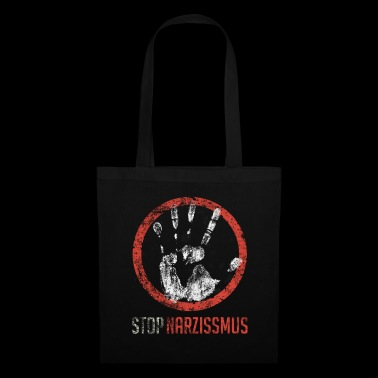 Stop narcissism - Tote Bag