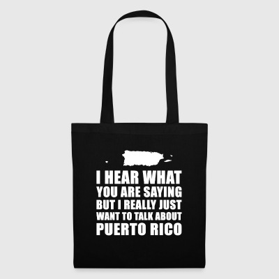 Funny Puerto Rico holiday gift idea - Tote Bag