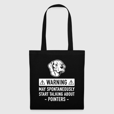 Funny Pointer Gift Idea - Tote Bag