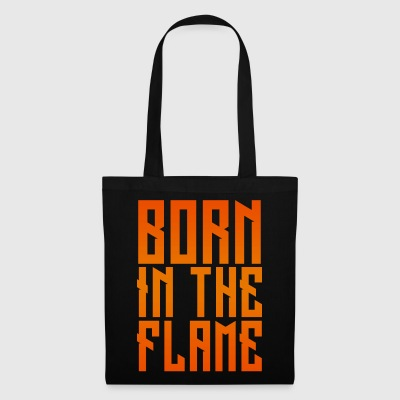 maglietta_born_in_the_flame - Borsa di stoffa