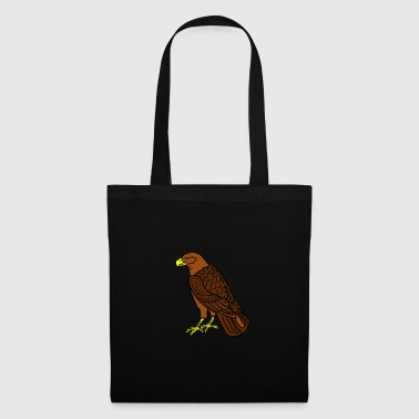 sitting raptor - Tote Bag