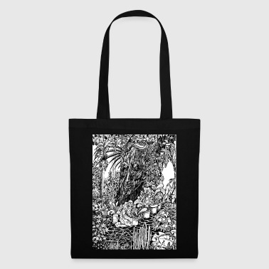 Old tree in the garden - Tote Bag