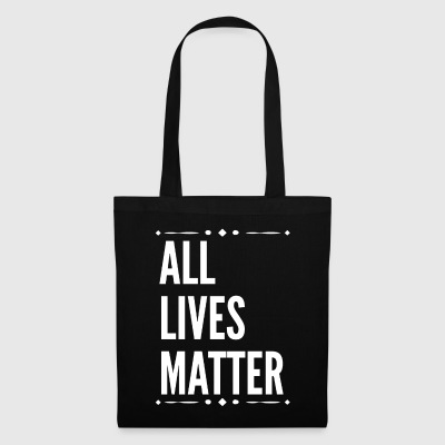 All Lives Matter Slogan.No Violence. Campaign Gift - Tote Bag