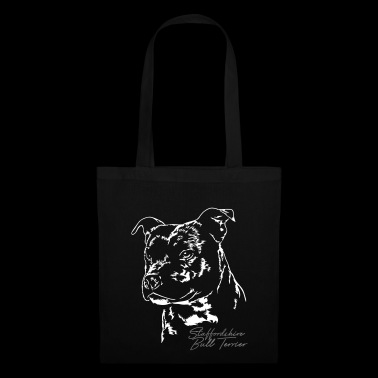 STAFFORDSHIRE BULL TERRIER Portrait Wilsigns - Tote Bag