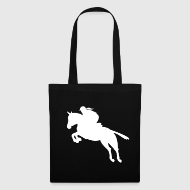 show jumping girl - Tote Bag